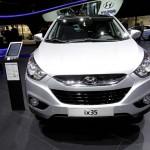 Modellgepflegter Hyundai ix35 in der Frontansicht