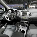 Der Innenraum des überarbeiteten Hyundai ix35