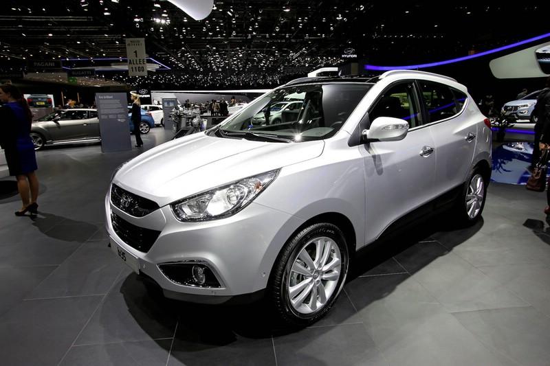 Hyundai präsentiert ix35 Facelift auf dem Gnfer Autosalon 2013