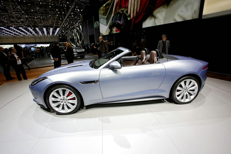 Präsentation des Jaguar F-Type auf Genfer Autosalon 2013