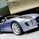Jaguar F-Type in der Frontansicht - Genfer Auto-Salon 2013