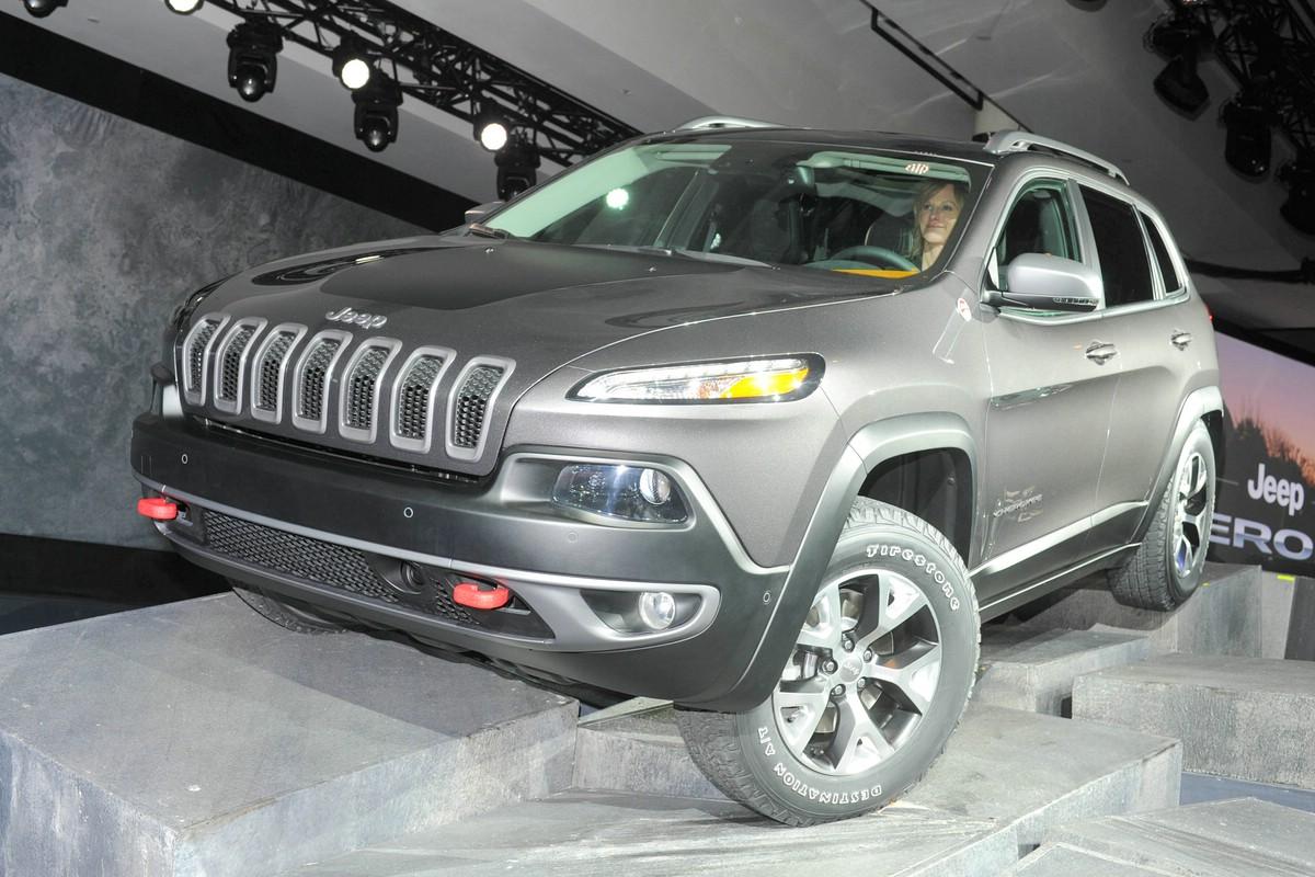 Jeep Cherokee auf der Automesse News York