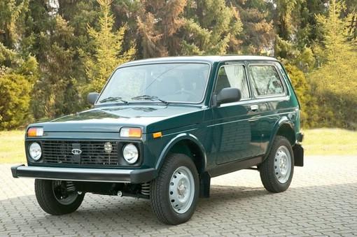 Der aktuelle Lada Niva 4x4 in Grün