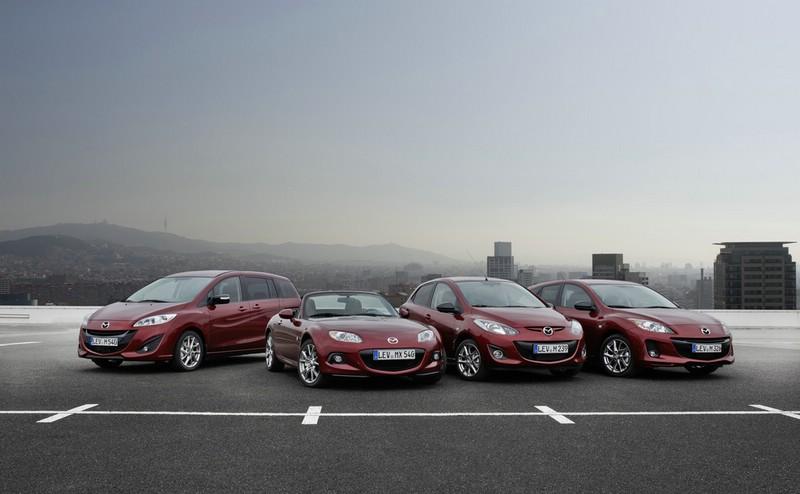 Die Mazda Kenko Sondermodelle für die Baureihen 2, 3, 5 und MX-5