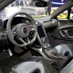 Das Cockpit des McLaren P1 (Genf salon)
