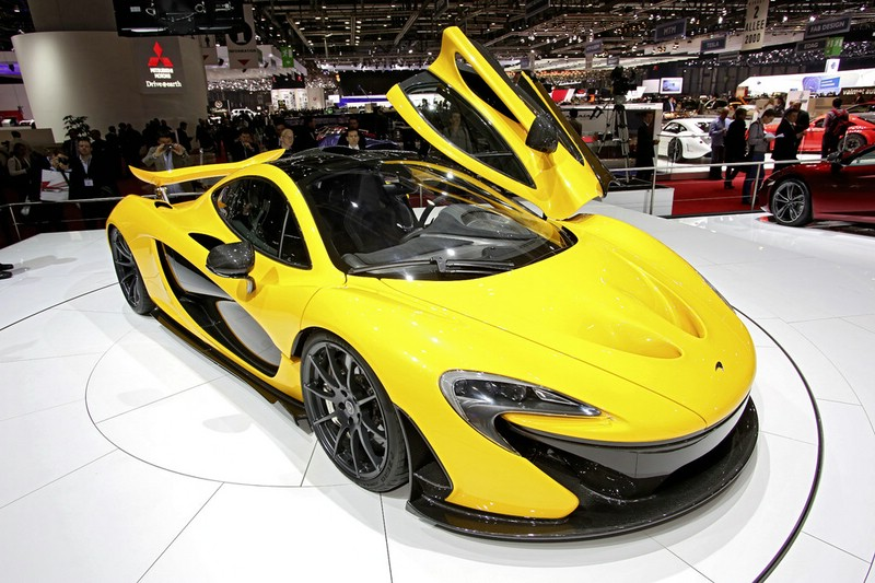 McLaren P1 auf der 2013-er Genfer Automesse
