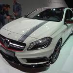 Der Grill des neuen Mercedes-Benz A45 AMG