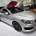 Mercedes-Benz CLA-Klasse auf dem Genfer Autosalon 2013