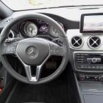 Das Cockpit des neuen Mercedes-Benz CLA 250