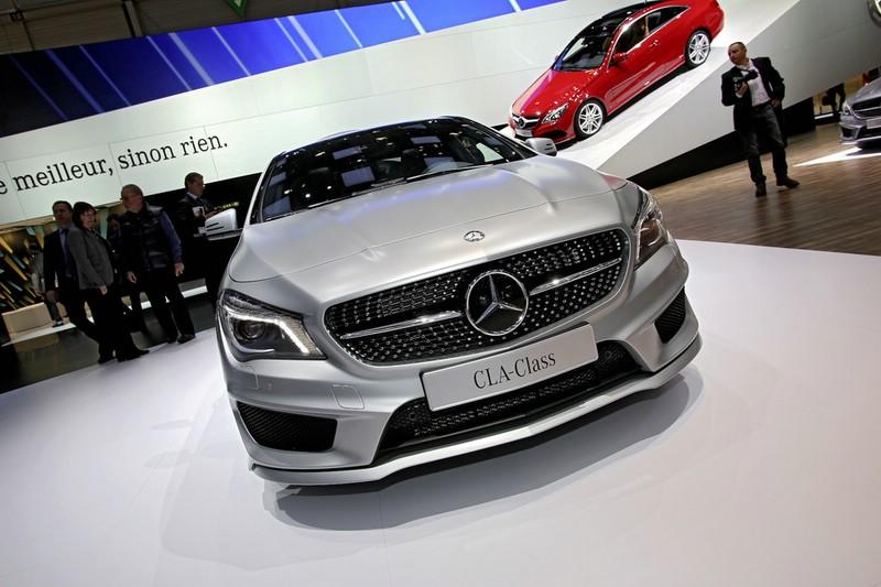 Mercedes-Benz CLA auf der Genfer Automobilmesse 2013