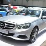 Mercedes E 250 CDI T-Modell auf der 2013-er Genfer Automesse