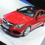 Mercedes E-Klasse Coupe Facelift auf Autosalon Genf 2013