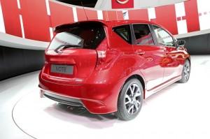 Nissan Note auf dem Genfer Automobilsalon 2013