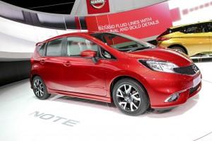 Nissan Note auf dem Genfer Autosalon 2013