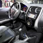 Der Innnraum das Cockpit des Nissan Note
