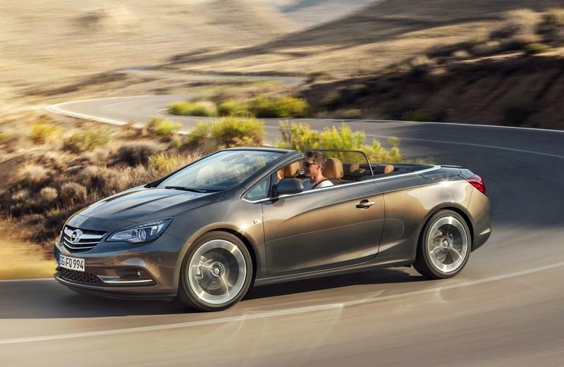 Der neue Opel Cascada bei den Testfahrten