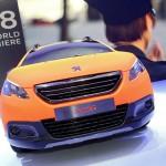 Der Frontbereich des Peugeot 2008