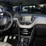 Der Innenraum des neuen Peugeot 2008
