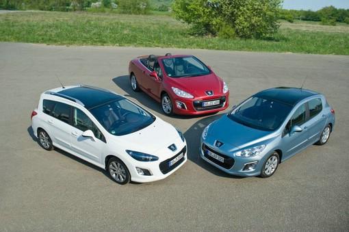 Die neuen Peugeot Modelle 308, 308 SW und 308 CC