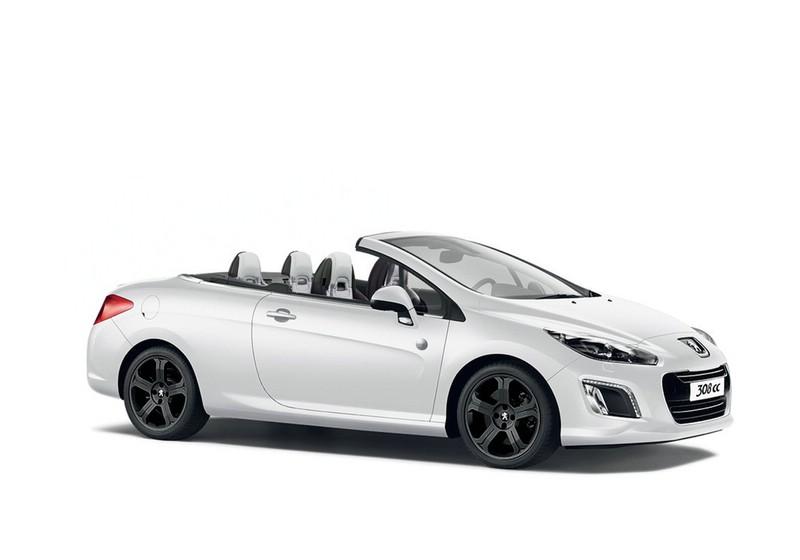 Peugeot 308 CC Roland Garros in weiß