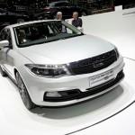 Qoros 3 in der Frontansicht - Genfer Auto-Salon 2013