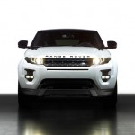 Range Rover Evoque Black Design in der Frontansicht