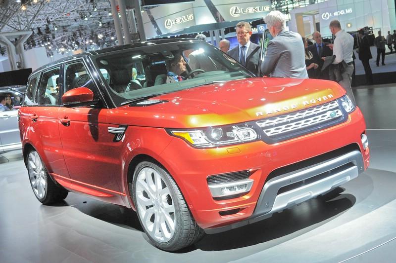 Range Rover Sport Bilder vom Außendesign