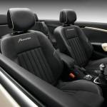 Die Ledersitze des Renault Megane Coupe-Cabriolet