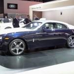 Rolls Royce Wraith auf der Automesse News York
