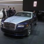 Rolls Royce Wraith auf New Yorker Automobilmesse 2013