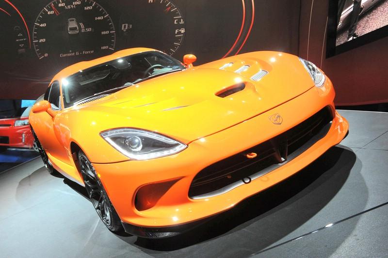 SRT Viper TA auf New Yorker Automesse 2013