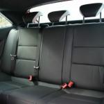Die hinteren Sitze des Seat Ibiza Cupra