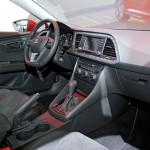 Das Armaturenbrett des neuen Seat Leon SC 2013