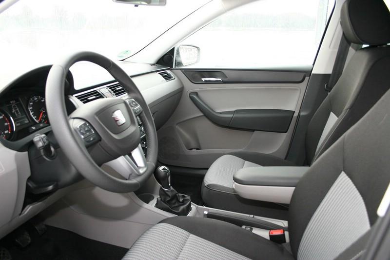 seat toledo interieur