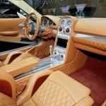 Das Interieur des Spyker B6 Venator