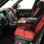 Das Interieur des Range Rover vom Tuner Startech