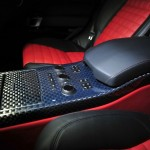Die Mittelkonsole des Range Rover vom Tuner Startech