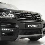 Der Kühlergrill des Range Rover vom Tuner Startech