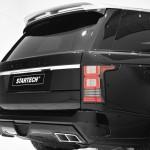 Die Heckleuchten des Range Rover vom Tuner Startech