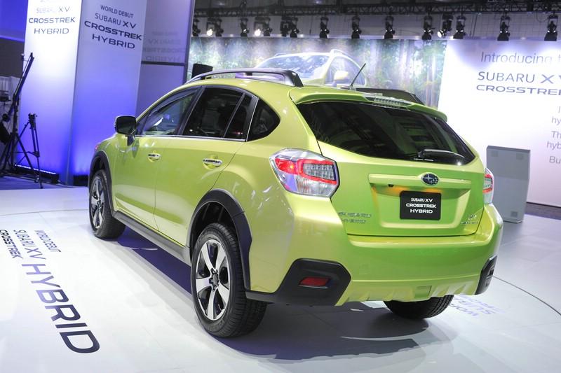 Subaru XV Crosstrek auf New Yorker Automobilmesse 2013