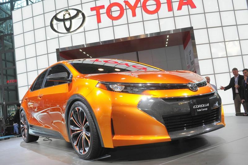 Toyota Corolla Furia Konzept-Studie auf der New Yorker Auto Show 2013
