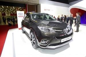 Toyota RAV4 Premium auf dem Genfer Automobilsalon 2013