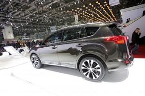 Toyota RAV4 Premium auf der Genfer Automobilmesse 2013