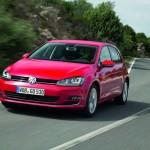 Die Frontpartie des Volkswagen Golf 7