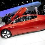 VW XL1 Bilder vom Außendesign