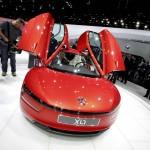 XL1 - VW zeigt das 1-Liter Auto in Genf
