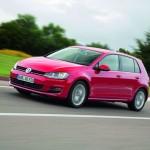 Der neue Volkswagen Golf mit der interne Bezeichnung AU