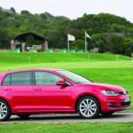 Volkswagen Golf 7 Typ AU 2013 in Rot