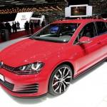 Volkswagen Golf7 GTI in der Frontansicht - Genfer Auto-Salon 2013