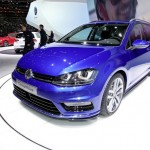 VW Golf Variant Concept R-Line auf dem Genfer Automobilsalon 2013